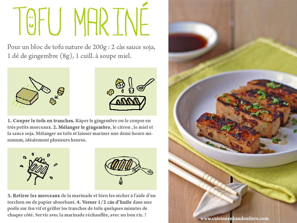 Du Tofu Qui A Du Gout Cuisine En Bandouliere